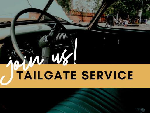 Sunday Service Video - Tailgate Service!