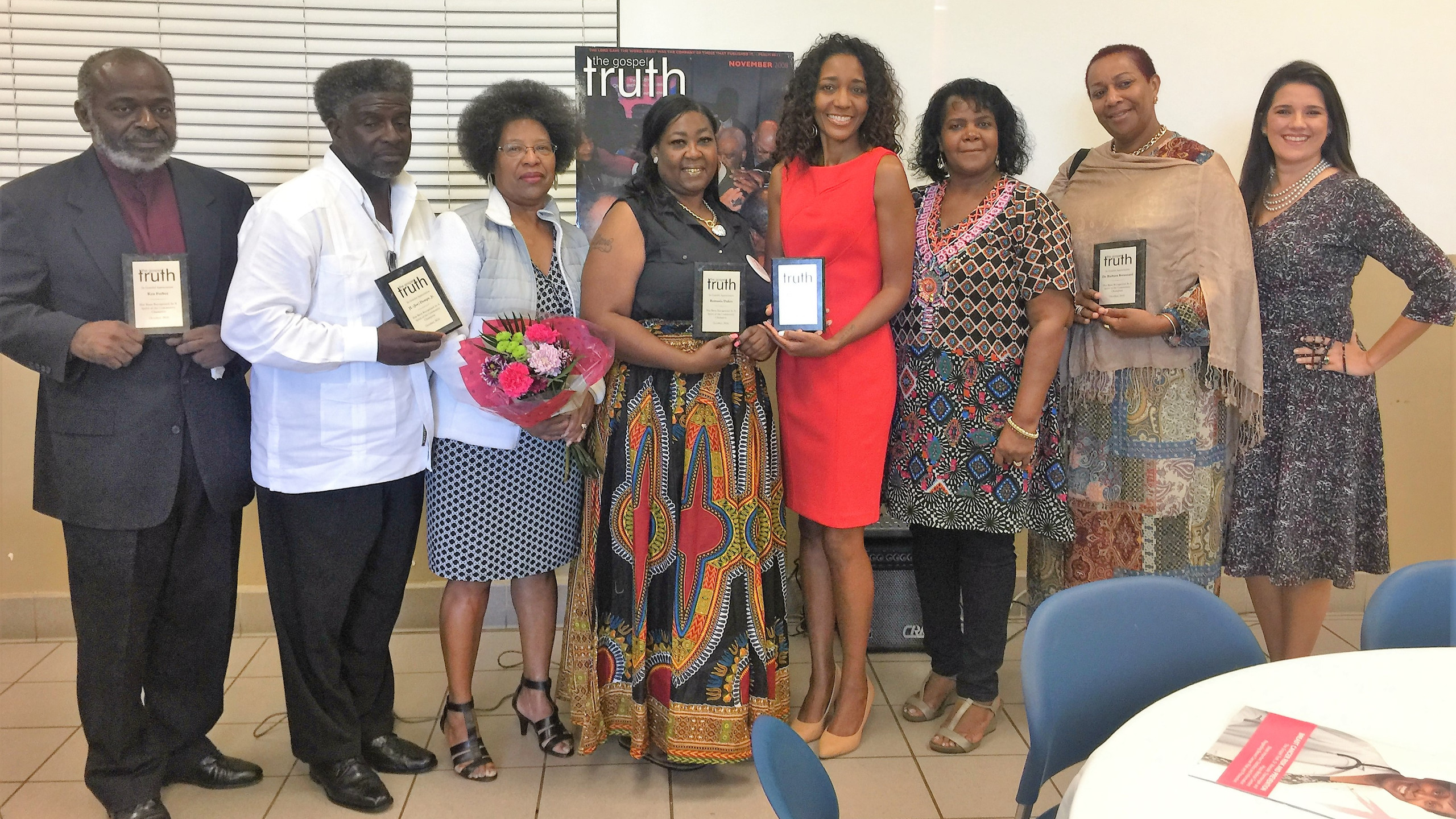 October 2016 Honorees