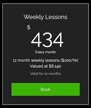 12 Month Weekly Golf Lessons | Tim Krumnow Golf Academy