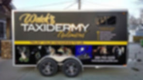 Weick's Taxidermy Unlimited Delivery Trailer