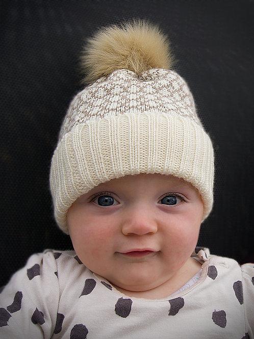 Fleet Baby Hat - Sand