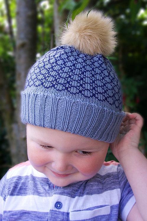 Fleet Baby Hat - Slate
