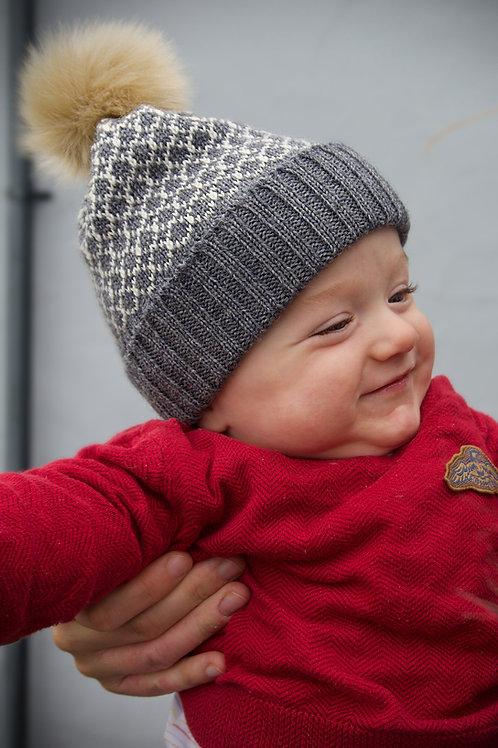 Fleet Baby Hat - Grey