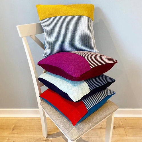 Block Stripe Cushion