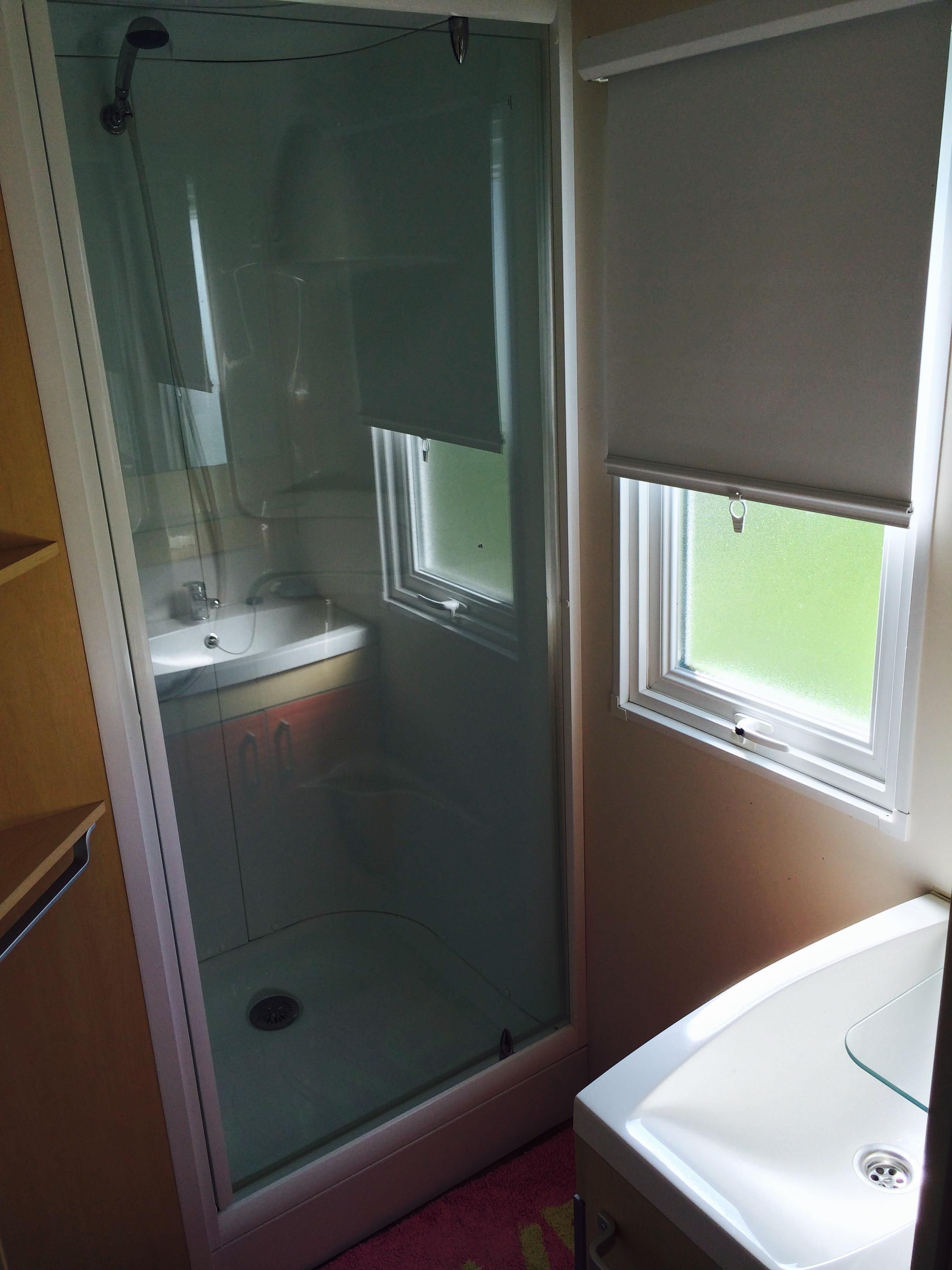 salle d'eau mobil home