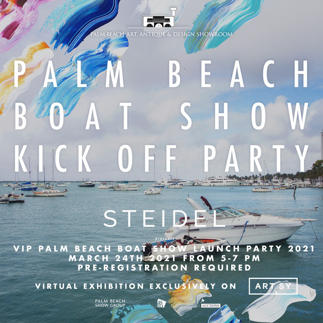 Palm Beach Boat Show Launch Party