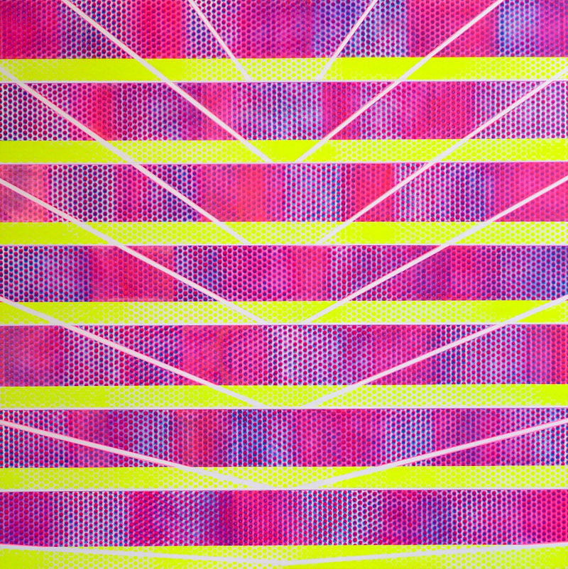 'PRISM YELLOW WHITE MAGENTA' (2014)