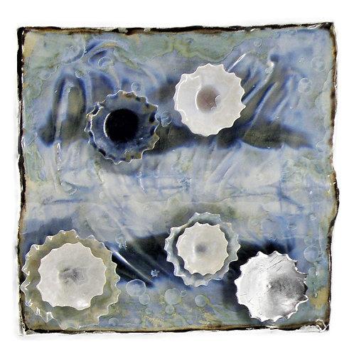 Wall Tile | Light Blue Bermuda Silver