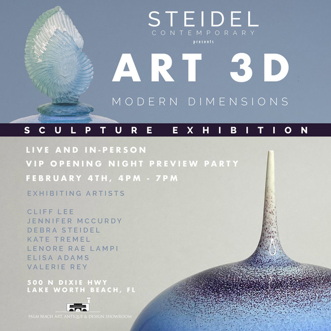 Art 3D: Modern Dimensions Exhibition