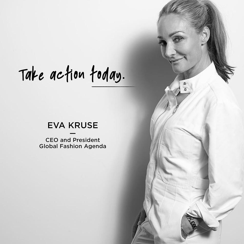 Eva Kruse | Imagem Divulgação @globalfashionagenda