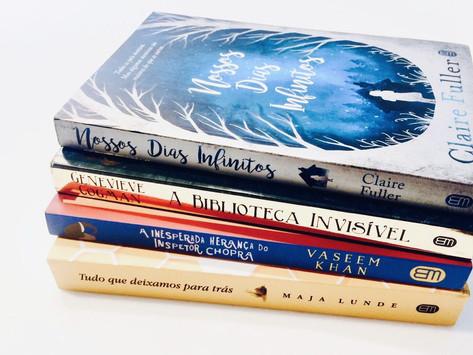 RECEBIDOS DA SARAIVA: PARCEIRA DO BLOGUESIA BOOK CLUB