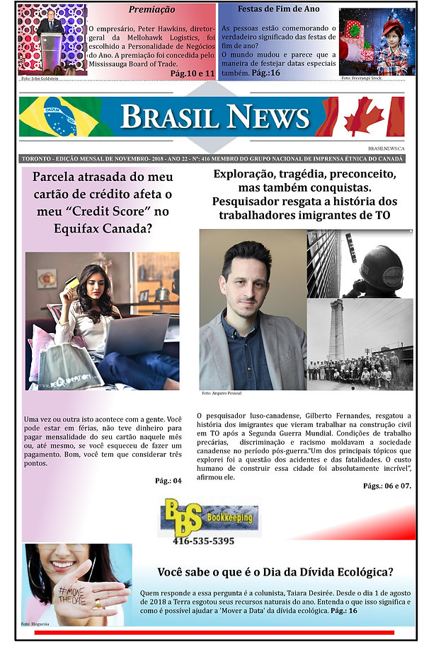 Overshoot Day Jornal Brasil News Capa