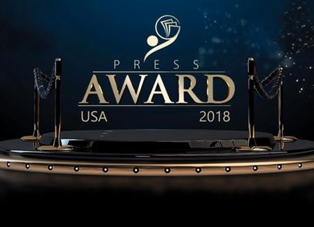PRESS AWARD USA 2018: YOUTUBER-BLOGGER DO ANO [SOLENIDADE DE PREMIAÇÃO]