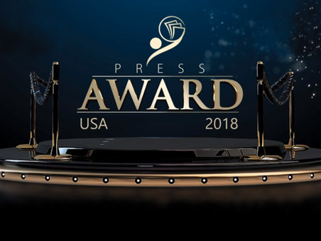 PRESS AWARD USA 2018: YOUTUBER-BLOGGER DO ANO [SOLENIDADE DE PREMIAÇÃO]