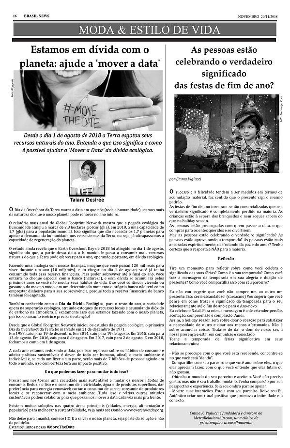 Overshoot Day Jornal Brasil News matéria