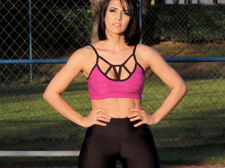 LOOK FITNESS COM STRAPPY TOP
