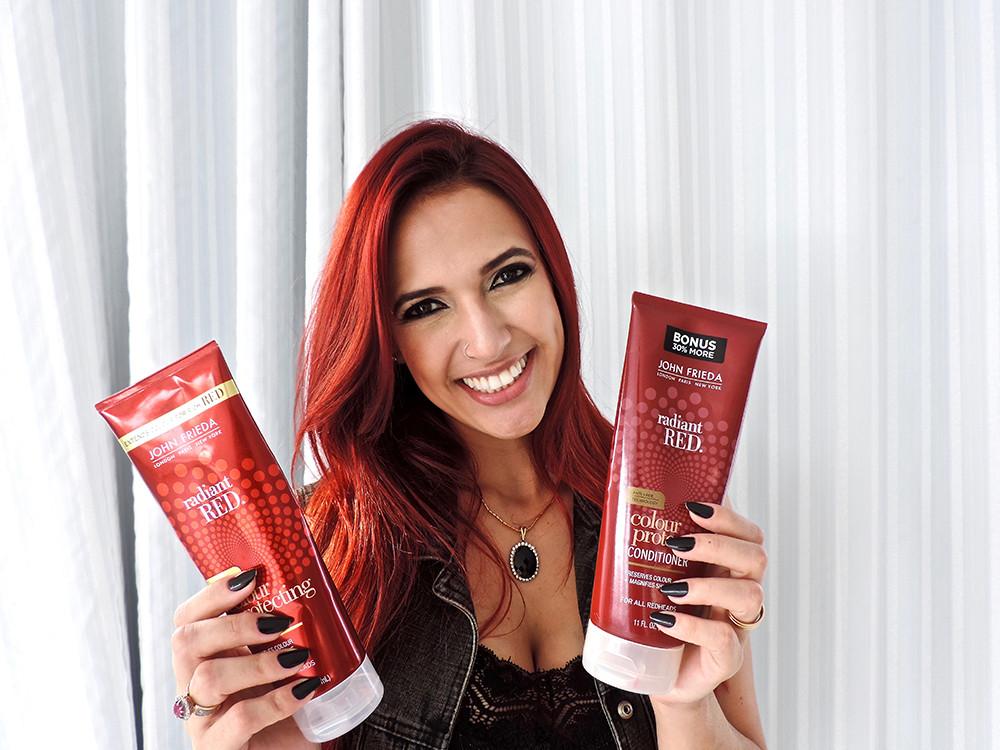 Bloguesia by Taiara Desirée - Beauty - Shampoo & Conditioner for all redheads (John Frieda)