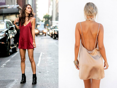 SLIP DRESS: TREND PARA APOSTAR NO NATAL