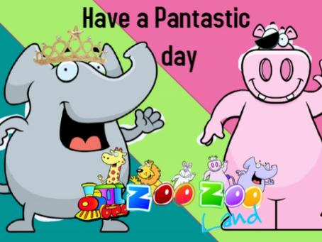 """""""Pantastic"""" day"""