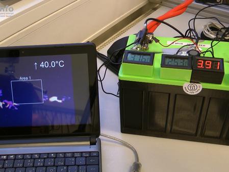 A je to tady! Baterie HE3DA nehoří, otestováno za přítomnosti Akademie věd a portálu TZB-info