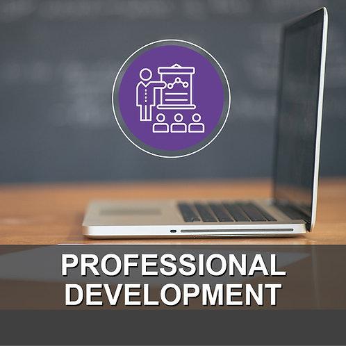 School: Professional Development Package