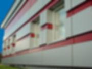 Фасады из композита