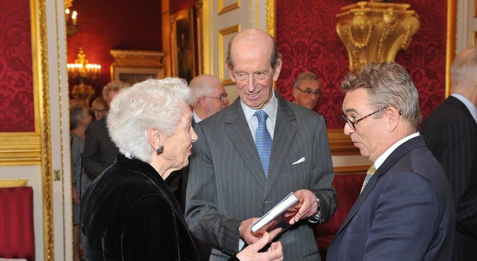 Valere Preston-Dunlop, HRH The Duke of Kent KG and Anthony Bowne