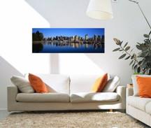 canvas panoramic photo
