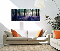 canvas panoramic photo print