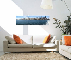 40 x 12 panoramic photo canvas