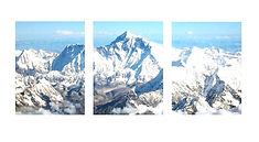 3 piece multi panel photo canvas