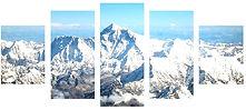 5 piece Multi Canvas