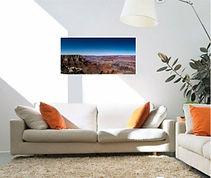 true panoramic canvas photo