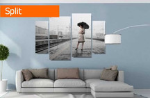 multi panel photo canvas