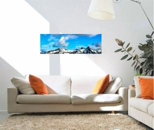 36 x 12 panoramic photo canvas