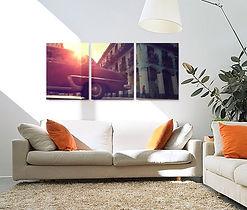 Split canvas Photo Print