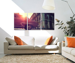Split canvas Photo Print
