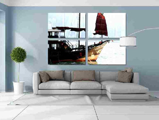 How to create a Split or Multi Panel Photo Canvas