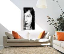 Portrait photo 2 canvas