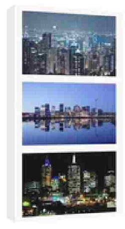 collage 18 x 36 photo canvas
