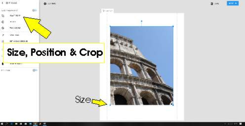 adding text to your canvas prints