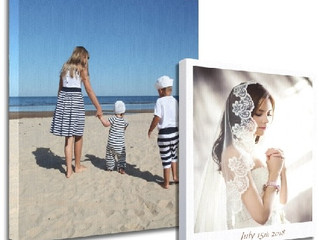What is a Gallery Wrap Photo Canvas