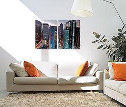 Split Photo canvas print