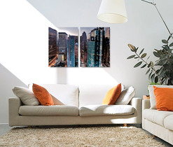 Split Photo canvas print