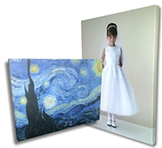 photo canvas sample