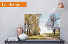 Landscape photo canvas