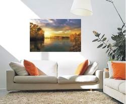58 x 36 panoramic photo canvas