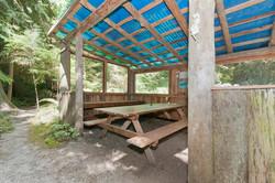 Sheltered communal area