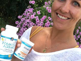 Caroline adds Nordic Naturals as a sponsor