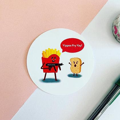 Pew Pew Pew - Vinyl Sticker